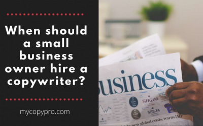 When Should a Small Business Hire a Copywriter?