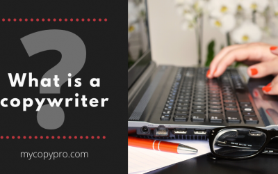 What is a copywriter?