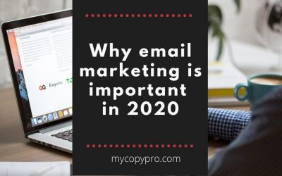 Why email marketing is important in 2020
