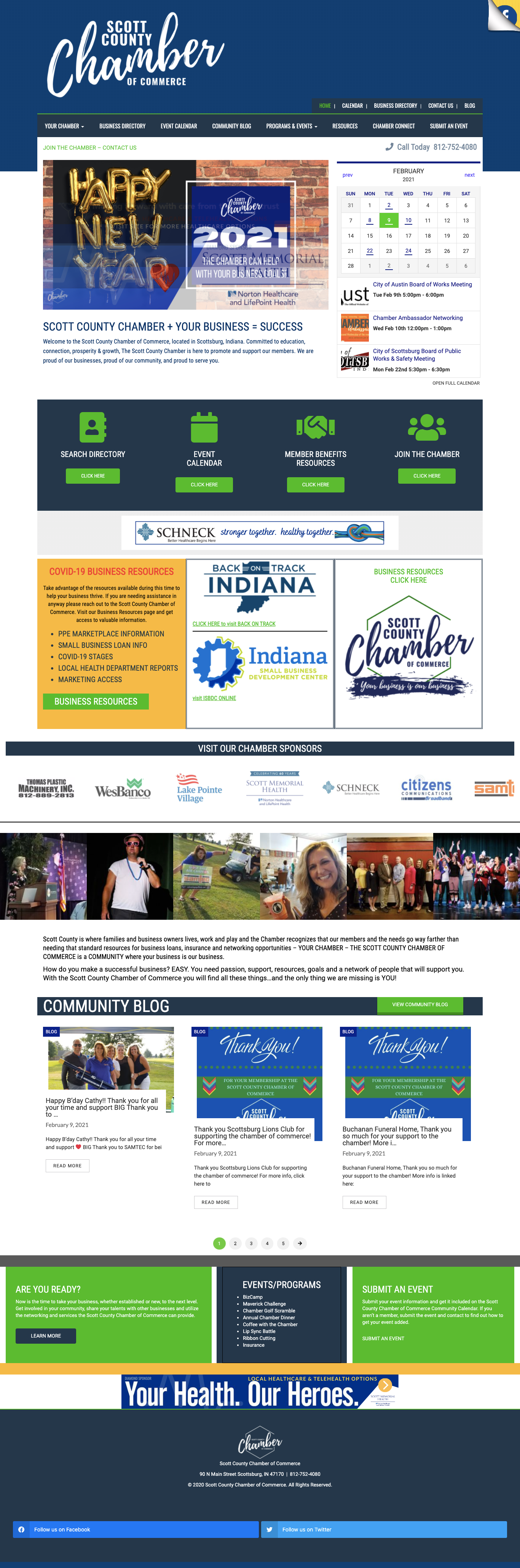 Chamber home page