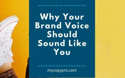 Why Your Brand Voice Should Sound Like You